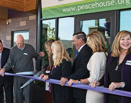 Peace-house-Park-city-womens-shelter-ribbon-cutting